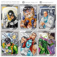Villains-Marvel Fleer Cards by shaotemp