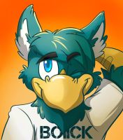 Commission: Riley Bust by Robo-Shark