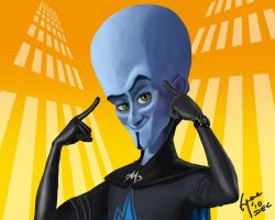 Megamind by Eugeneoyc