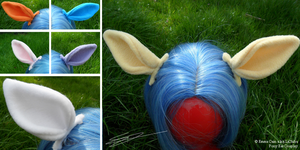 Pony, Deer or Horse Clip on Ears Cosplay by LiChiba