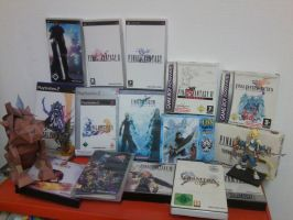 My Final Fantasy Collection by Icedragon300