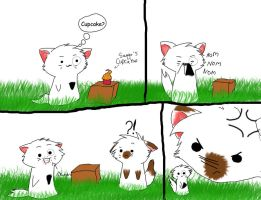 Funny Cat comic by xXMeganMavelousXx