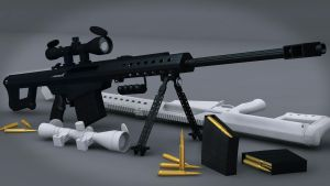 Barrett M95 .50Cal by Hercool