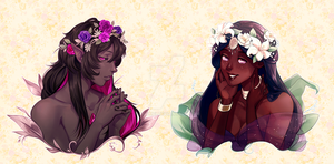 AliMei Flower Crown Collab by Meirii