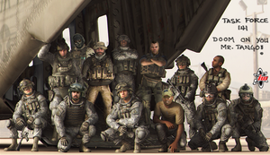 Task Force 141 group pic by FelixSoapMacTavish