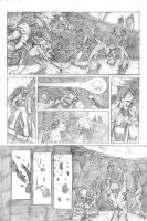 The Glimmer Society - Issue01 - Page 05 pencils by plaidklaus