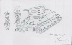 Our little Tank by InsaneSamantha