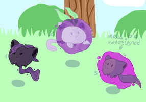 Hoppip x Gastly CLOSED by CaptainLaylie