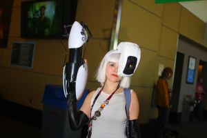 PAX East 2014 - GLADOS by VideoGameStupid