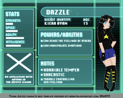 Dazzle Profile by KitKat2014
