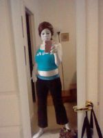 Wii fit trainer progress 1/3 by Y0-Mama