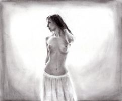 Standing nude by Syntheta-NZ
