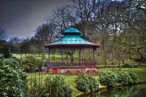Victorian bandstand by Karldransfield