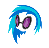 Simplistic Invisible Vinyl Scratch by JJBanton