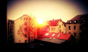 sunset stuttgart by DsaOne