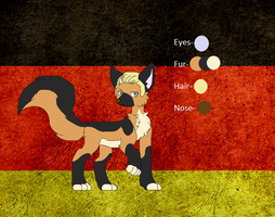 Germany the German Sherpard by FantasyDoodles