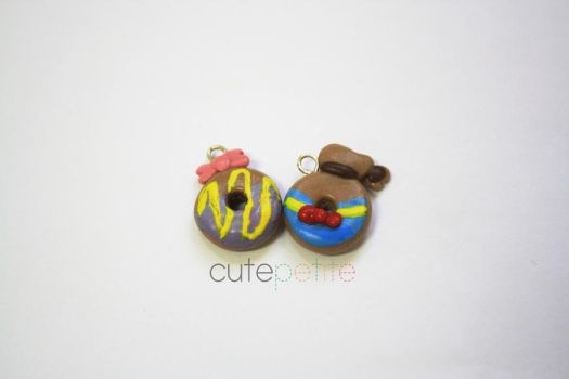 Donald and Daisy Duck Donuts by CutePetite