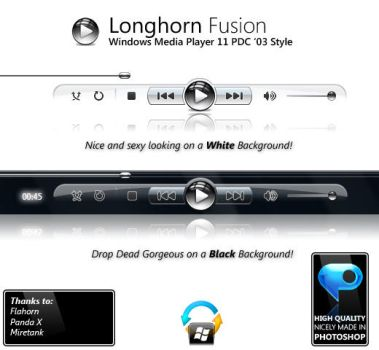 PDC '03 Windows Media Player by longhornfusion