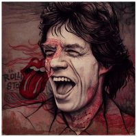 Mick Jagger by Gubcha