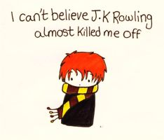 J.K.Rowling's idea by GoldenPhoenix75