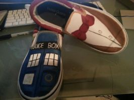 Doctor Who shoes by asharceneaux