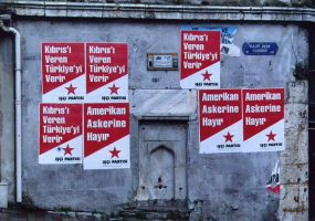 Anti-War Posters of Istanbul by azizamaheen