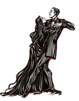 Gomez And Morticia by Muirin007