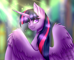 Majestical Princess - Collab With CyanElwi by gittykitty264