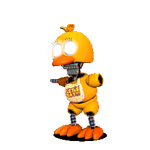 The Joy Of Creation Chica -FNAF World Edit- by Bonnie-From-Fnafb