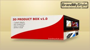 3D PRODUCT BOX v1.0 by brandmystyle