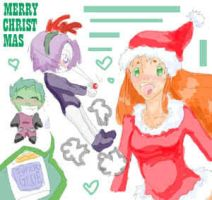 TT - christmas '05 by EvilRJ by teentitans