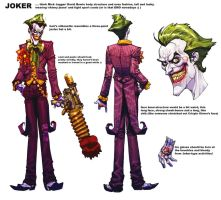 Joker design by Chuckdee