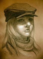 Head Drawing Portfolio 5 by Doodlee-a