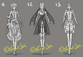 Full Clothing Design 11-13 [CLOSED] by JxW-SpiralofChaos