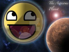 The Awesome Planet by JapantheCougar