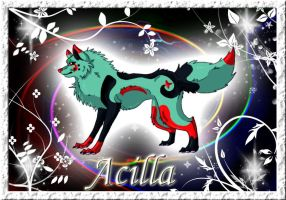 Acilla profile(old) by AzureHowlShilach