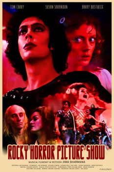 THE ROCKY HORROR PICTURE SHOW - movie poster by P-Lukaszewski