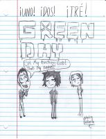 green day doodle by peacmaker101
