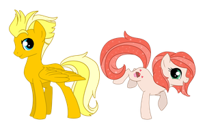 ThunderStrike and Sugarcup by nirac