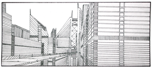 One-Point Perspective by CommanderEVE
