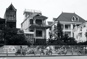Hanoi Neighborhood by smokinjay