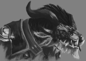 Guild Wars 2 Charr by SleepyClouds