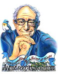 Sanders, Hope, and a Bunting by Muffyn-Man