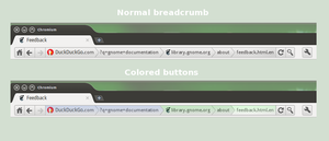 Breadcrumbs for Web Browsers by Algalord-Gnome