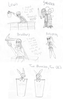 Le Sketch Requests by 9rabbitego