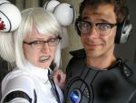 GLaDOS Hates Wheatley by Projectnewt