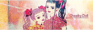 Paradise Kiss .sign Cheeky by KiiluDoki