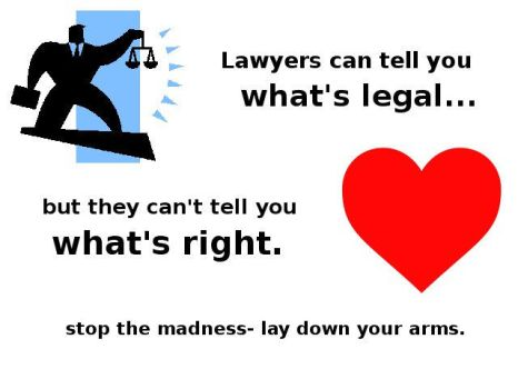 Legal or right by Pooleside