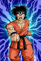 Goten's striking fist by BK-81