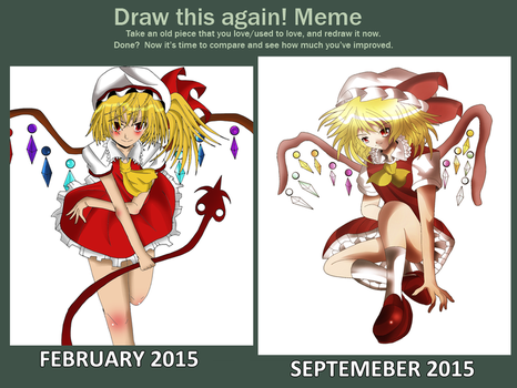 Draw That Meme: Flandre by SuperBeo